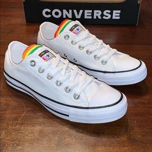 Converse CTAS White Canvas Rainbow 🌈
